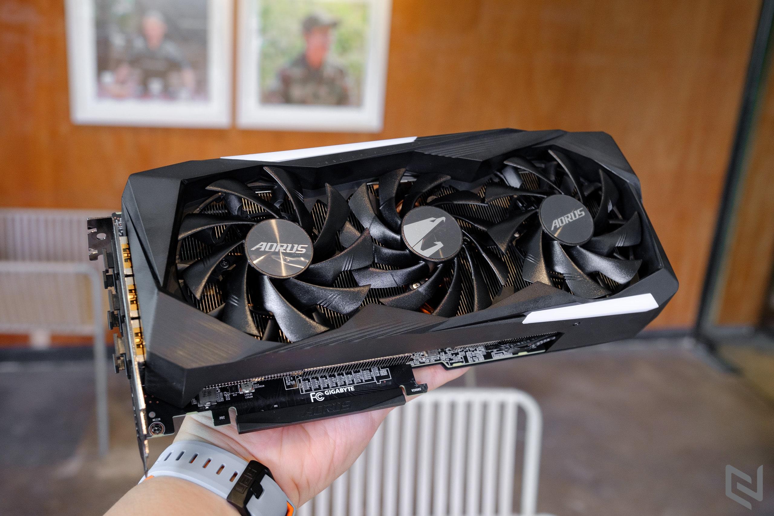 Gigabyte AORUS GeForce RTX 3070 MASTER 8G