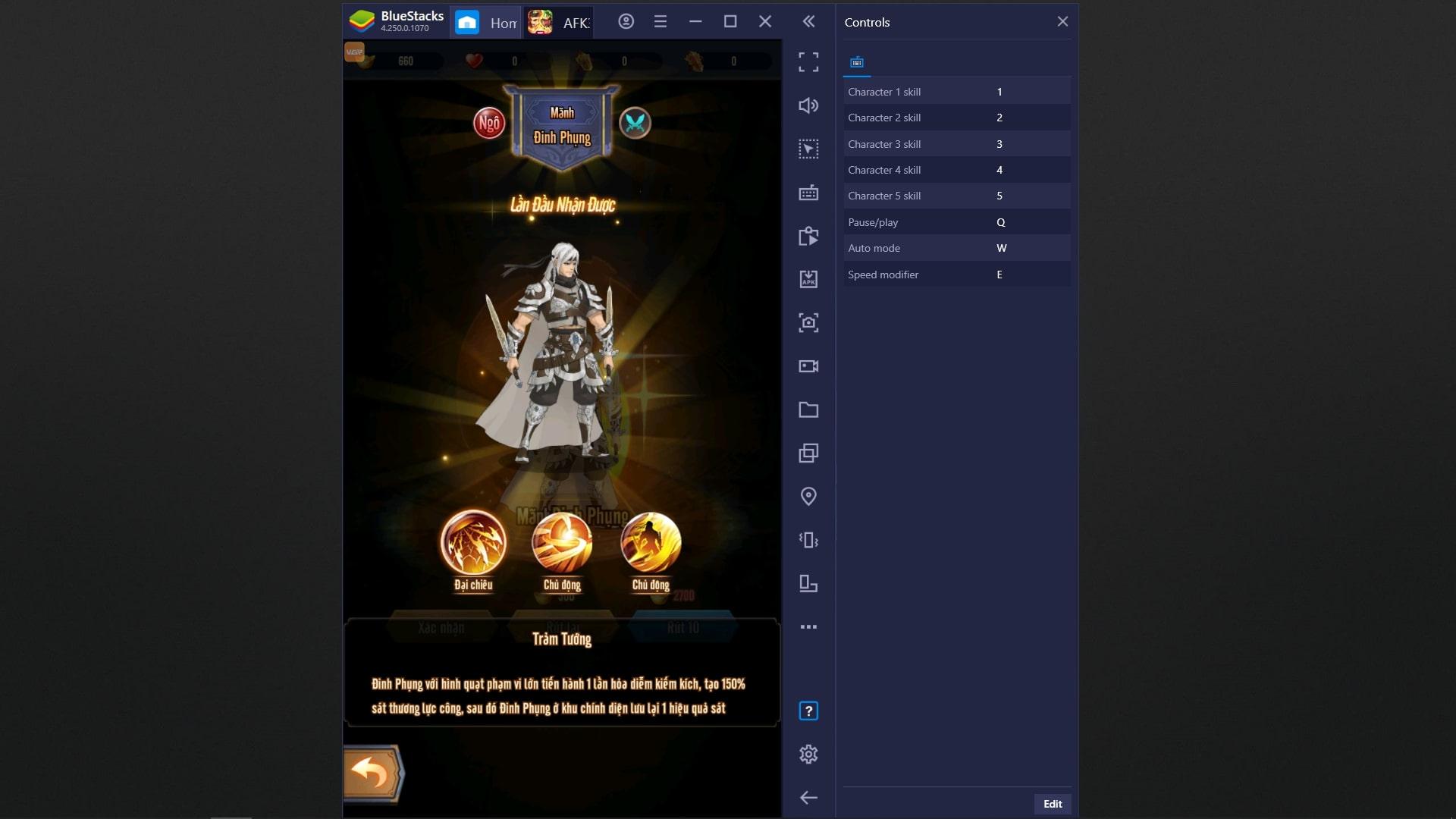 Code AFK 3Q VIP 2021 – Share Giftcode AFK 3Q: Đế Vương Thiên Hạ mới nhất AFK-3Q-tren-BlueStacks-13