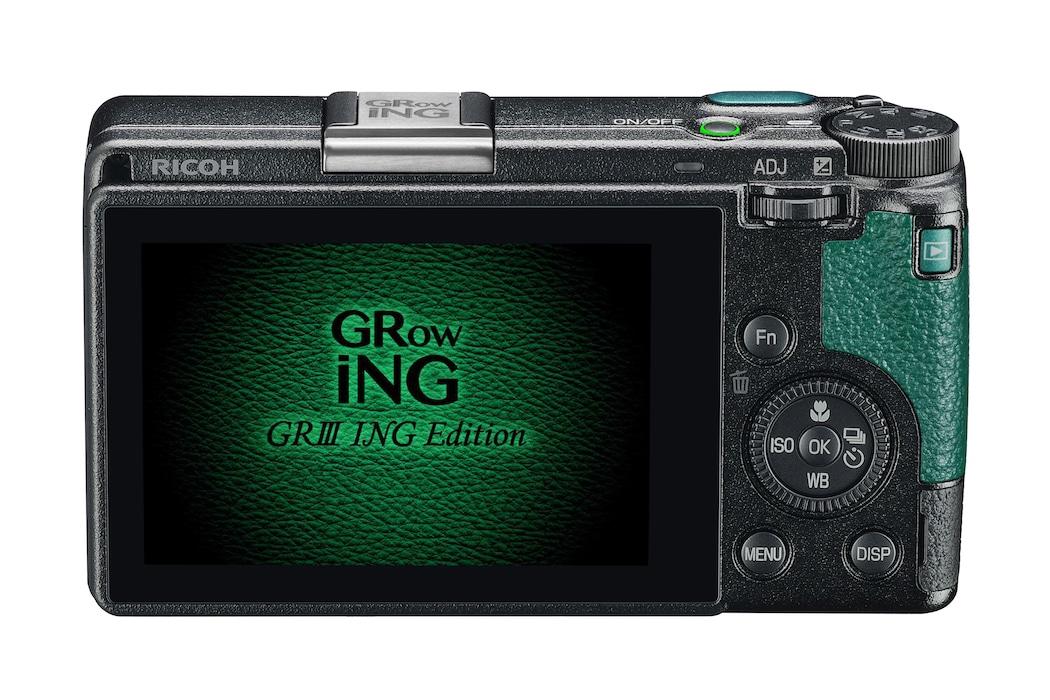 Phiên bản đặc biệt Ricoh GR III 'GRowING' màu xanh sẽ chỉ có tại Trung Quốc