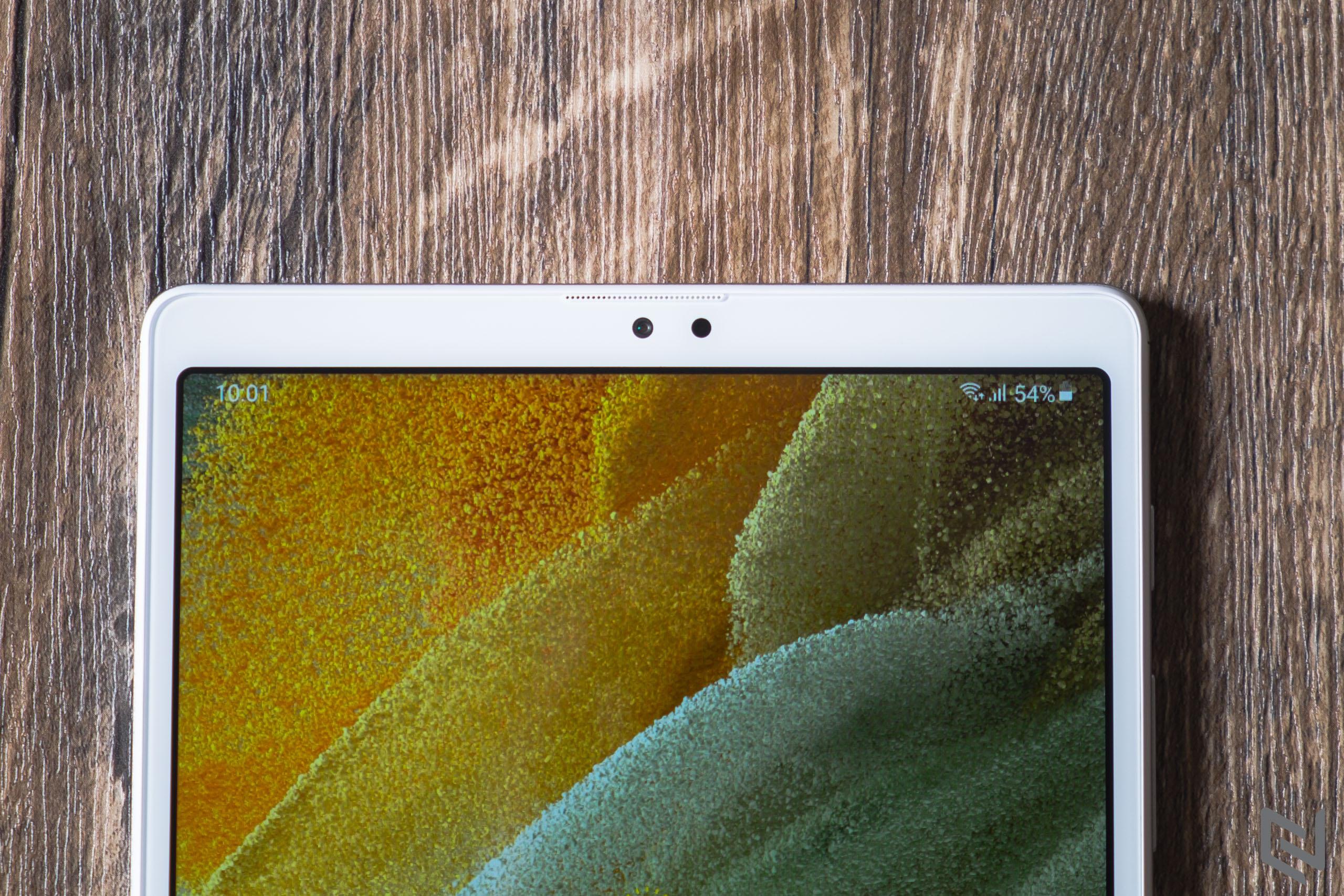 Mở hộp máy tính bảng Galaxy Tab A7 Lite: Nhỏ gọn, màn hình đẹp