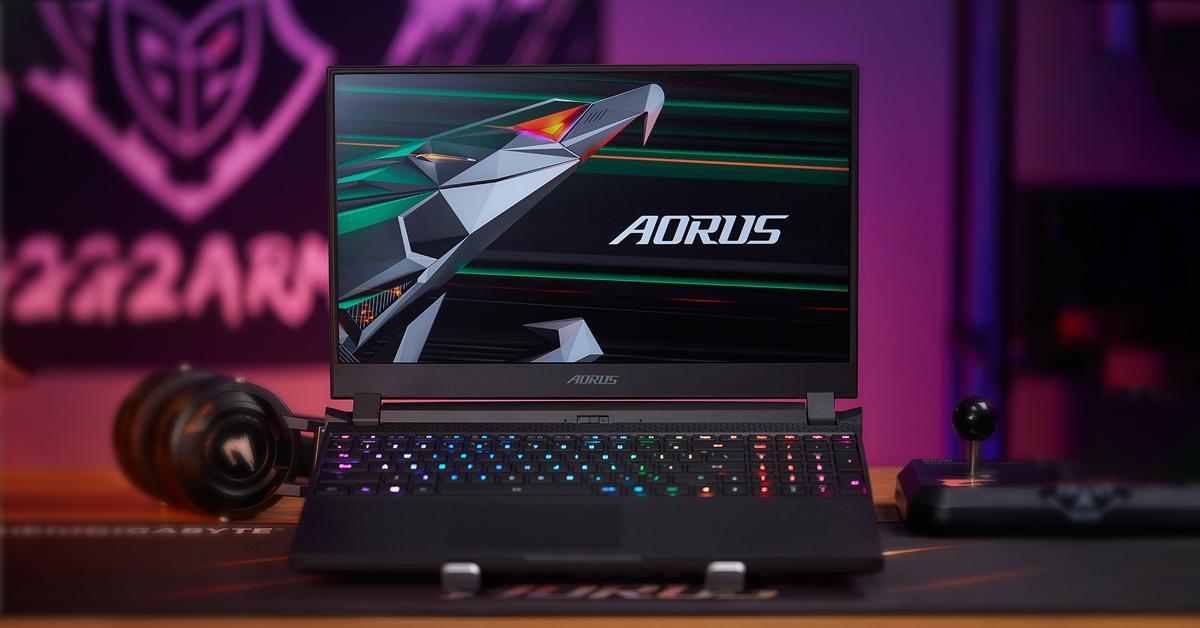 GIGABYTE ra mắt bộ ba laptop gaming tại Việt Nam: GIGABYTE, AORUS, AERO