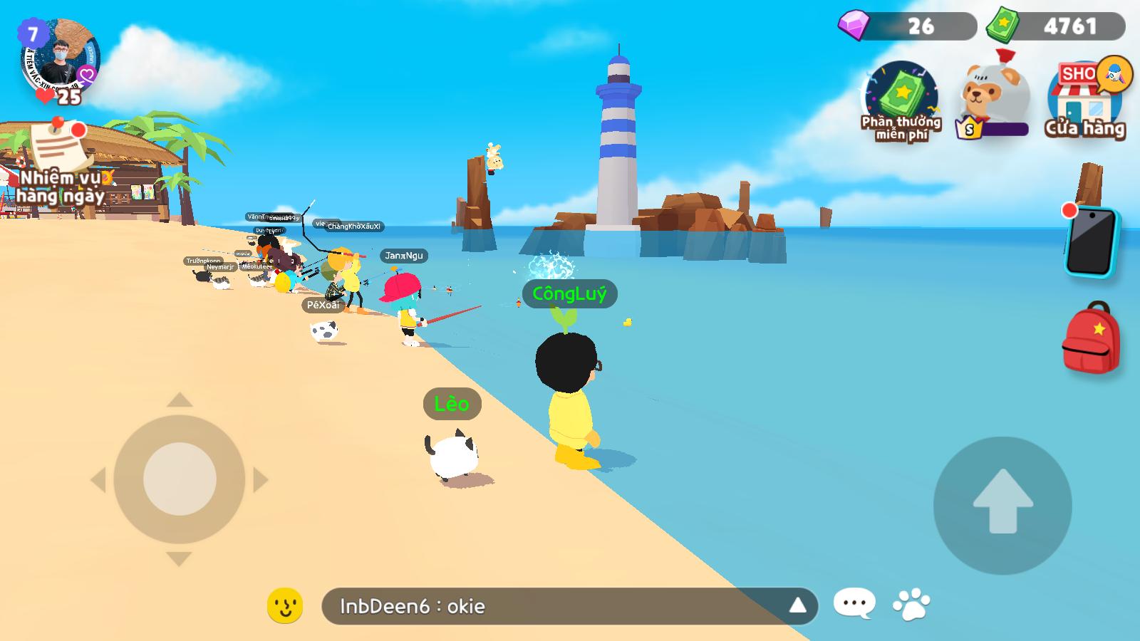 Địa điểm câu cá hiếm Play Together